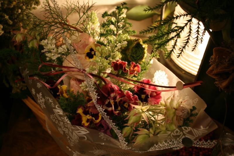 クリスマスの花束_d0005824_1911781.jpg