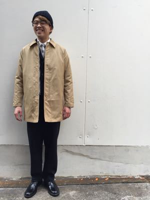 "Put on the ""Tacoma Coat Ⅱ\"" ①_d0227059_17502323.jpg"