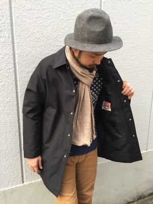 "Put on the ""Tacoma Coat Ⅱ\"" ②_d0227059_21515617.jpg"