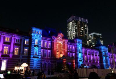 東京駅 & カレッタ汐留 ⭐️イルミネーション_c0151965_1842558.jpg