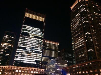 東京駅 & カレッタ汐留 ⭐️イルミネーション_c0151965_1842637.jpg