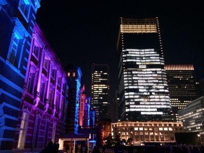 東京駅 & カレッタ汐留 ⭐️イルミネーション_c0151965_1842681.jpg