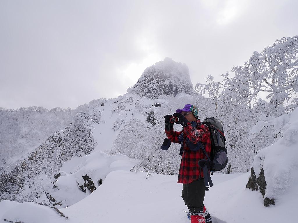 恵庭岳、12月28日-速報版-_f0138096_1642137.jpg
