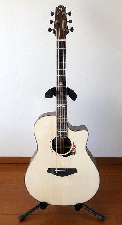 人生最高峰のギター! Yokoyama Guitars 『AR-GB #555』_c0137404_1016348.jpg