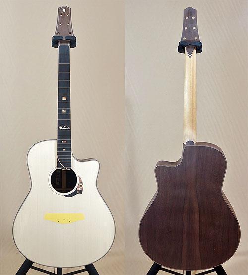 人生最高峰のギター! Yokoyama Guitars 『AR-GB #555』_c0137404_8415094.jpg