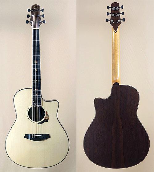 人生最高峰のギター! Yokoyama Guitars 『AR-GB #555』_c0137404_8422215.jpg