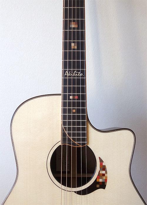 人生最高峰のギター! Yokoyama Guitars 『AR-GB #555』_c0137404_9512597.jpg