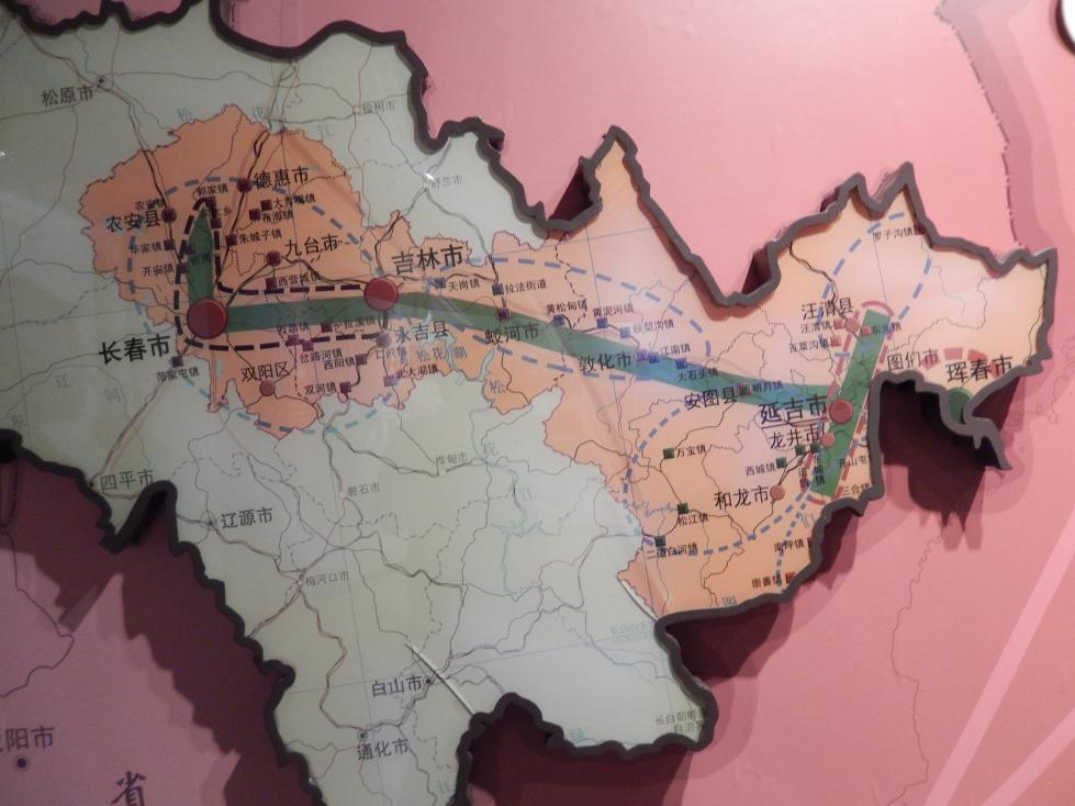 延辺朝鮮族自治州60周年にできた延辺博物館と朝鮮族の冷めた関係_b0235153_11305258.jpg