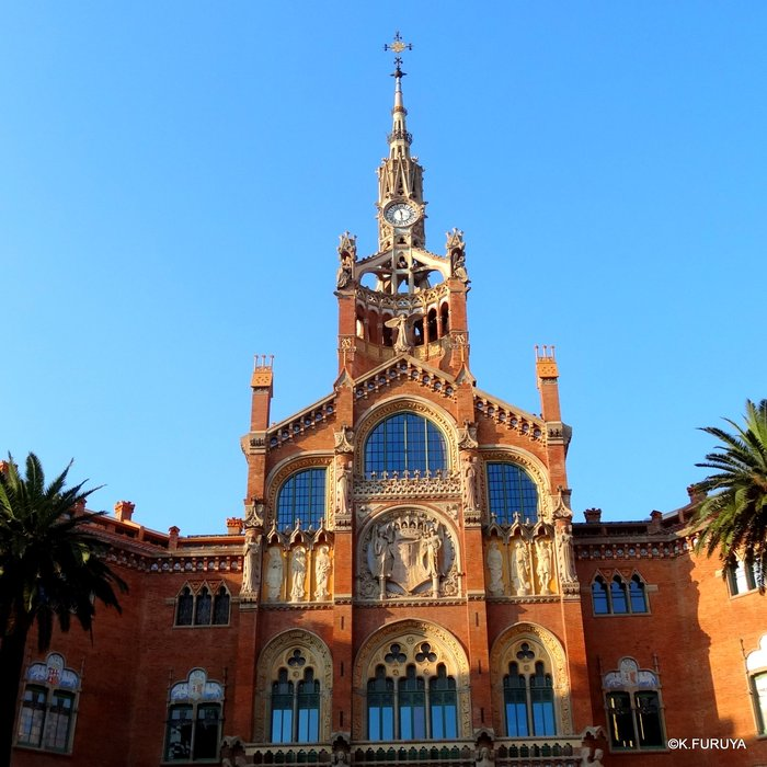 スペイン旅行記 20  バルセロナのモデルニスモ建築_a0092659_1833473.jpg