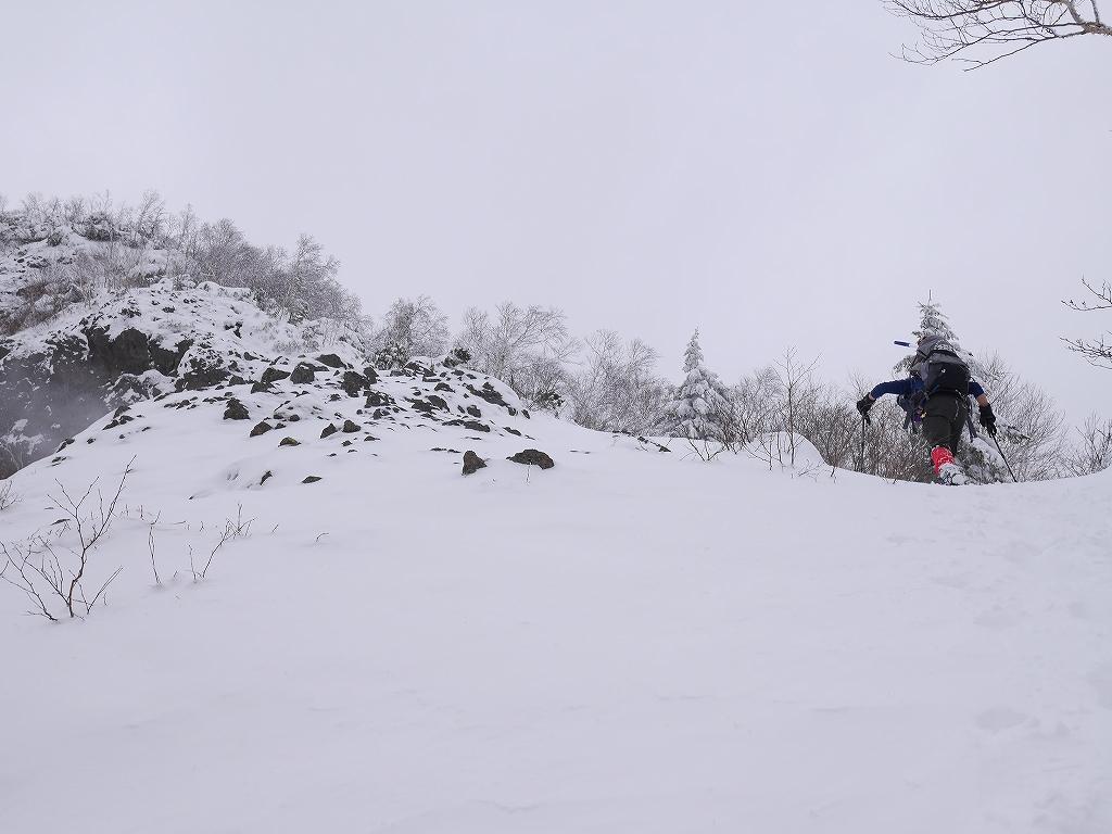 恵庭岳、12月28日_f0138096_12295850.jpg