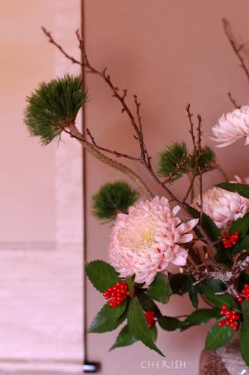 お正月のお花について_b0208604_12441141.jpg