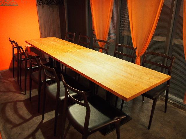 ヌッフデュパプ 六本木店 テーブル納品。_f0105112_6484172.jpg