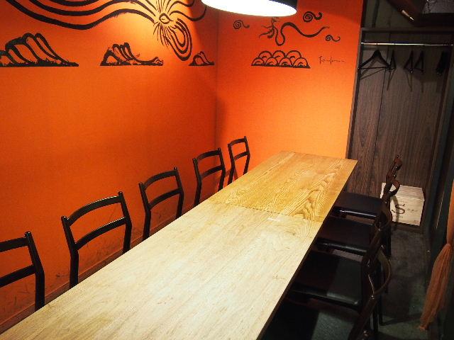 ヌッフデュパプ 六本木店 テーブル納品。_f0105112_6531054.jpg