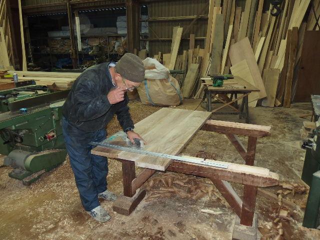 ヌッフデュパプ 六本木店 テーブル納品。_f0105112_6565414.jpg