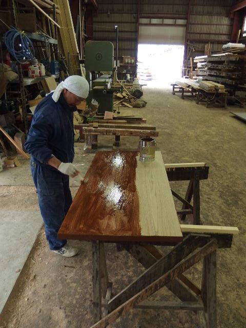 ヌッフデュパプ 六本木店 テーブル納品。_f0105112_70839.jpg