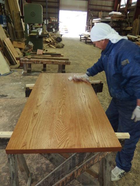 ヌッフデュパプ 六本木店 テーブル納品。_f0105112_71189.jpg