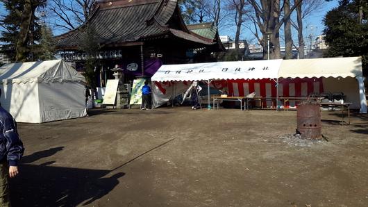 日枝神社元旦祭準備完了_d0057733_15455045.jpg