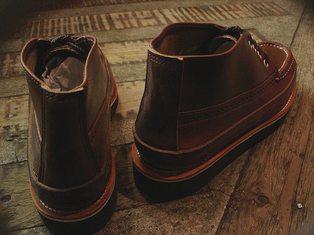 NEW : RUSSELL MOCCASIN CO.[Sporting Clays Chukka] & [Knock-A-Bout Boot with Strap] !!_a0132147_1155173.jpg