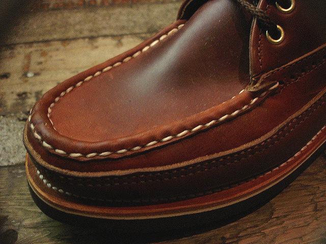 NEW : RUSSELL MOCCASIN CO.[Sporting Clays Chukka] & [Knock-A-Bout Boot with Strap] !!_a0132147_1171087.jpg