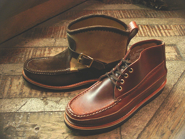 NEW : RUSSELL MOCCASIN CO.[Sporting Clays Chukka] & [Knock-A-Bout Boot with Strap] !!_a0132147_1184142.jpg