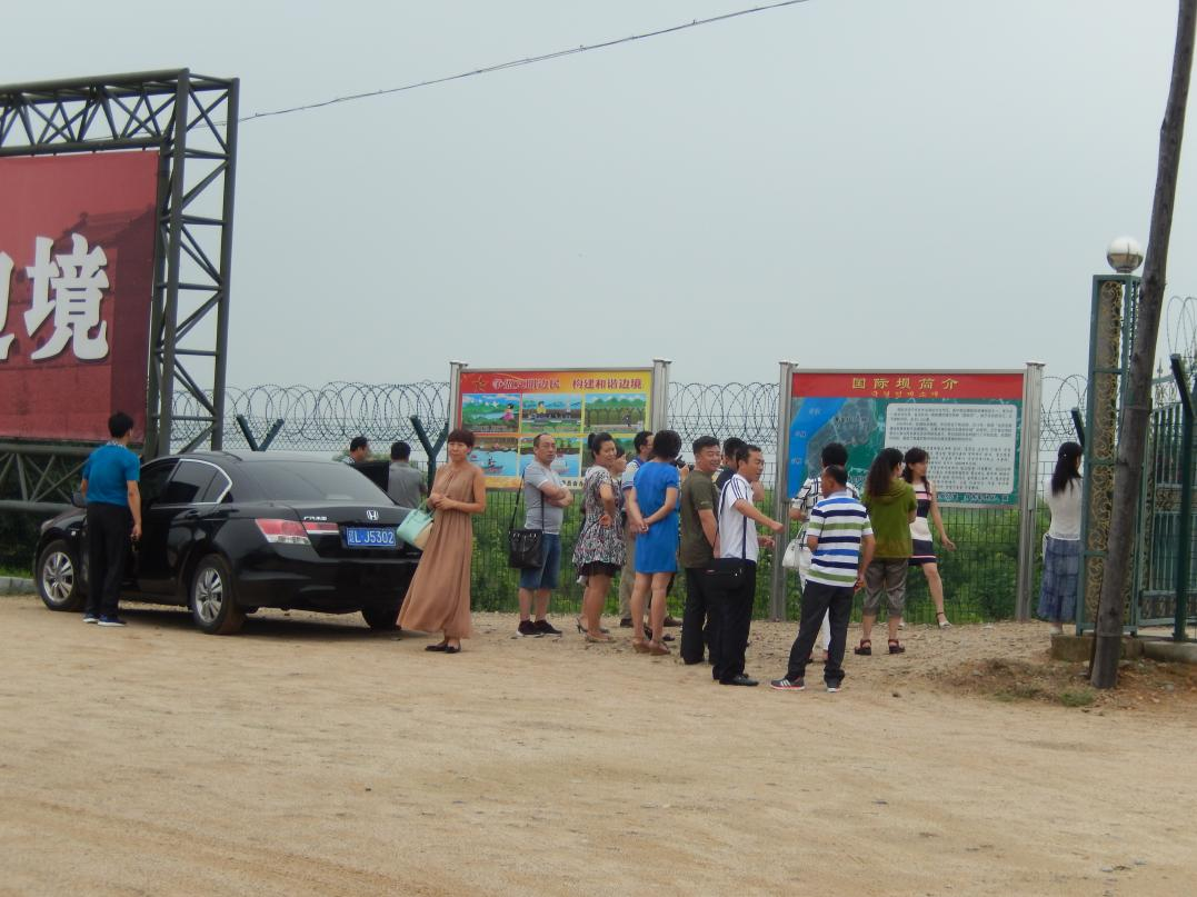 中朝共同開発の工業団地「黄金坪」はいまだ停滞中_b0235153_1365571.jpg