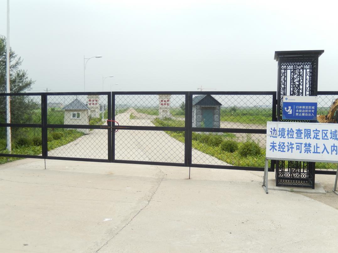中朝共同開発の工業団地「黄金坪」はいまだ停滞中_b0235153_1381144.jpg