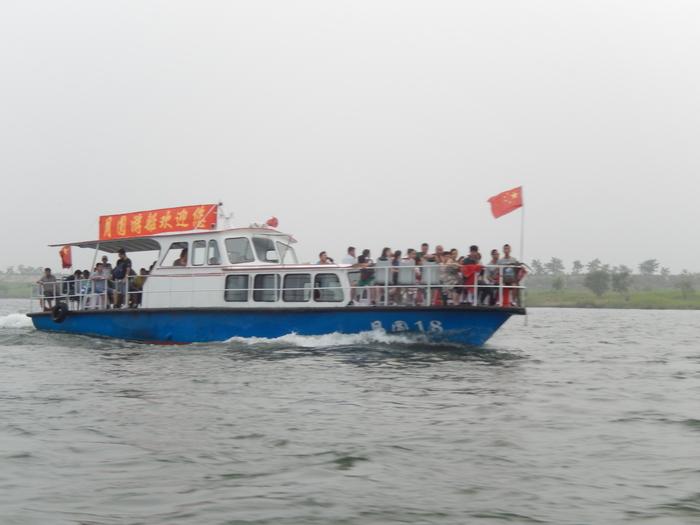 いま中朝国境で最もスリリングな遊覧ボートの旅(天逸埠頭)_b0235153_1791058.jpg