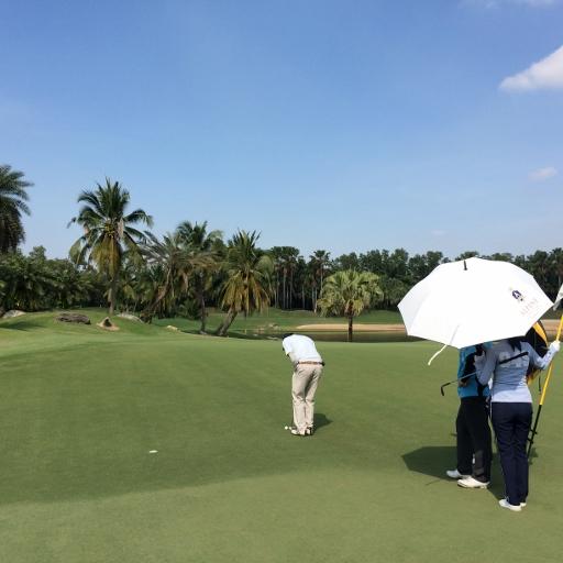 アルパイン・ゴルフコースで2日連続のプレー_b0100062_16525993.jpg