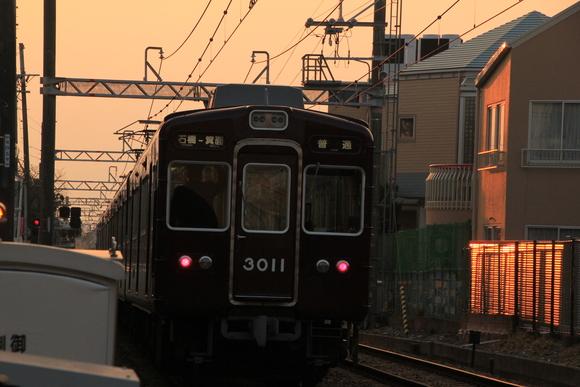 阪急箕面線 3000系 _d0202264_23325350.jpg