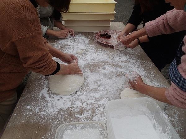いまりマリーナの餅つき会♪_a0077071_15474545.jpg