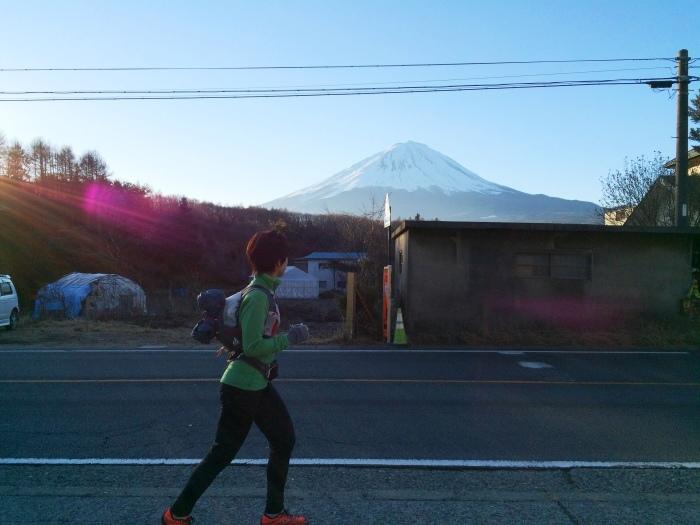 2014.12.27-29 富士山一周トレイル day2 河口湖・鳴沢-朝霧_b0219778_16171641.jpg
