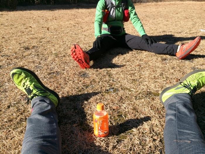 2014.12.27-29 富士山一周トレイル day2 河口湖・鳴沢-朝霧_b0219778_16224510.jpg