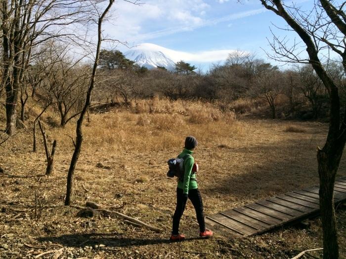 2014.12.27-29 富士山一周トレイル day2 河口湖・鳴沢-朝霧_b0219778_16242979.jpg
