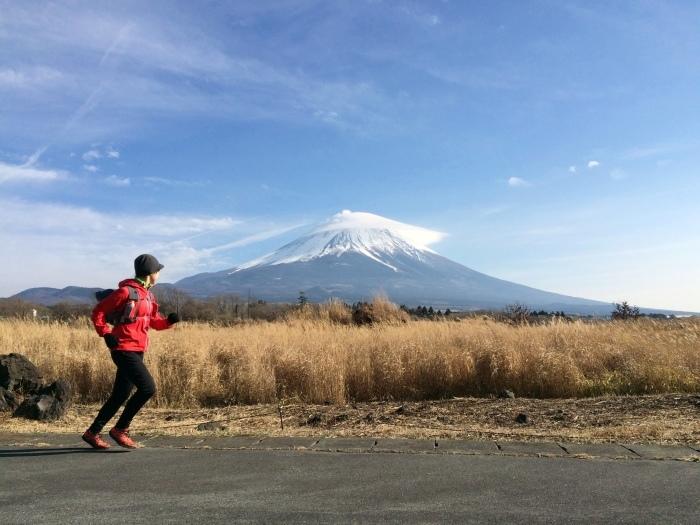 2014.12.27-29 富士山一周トレイル day2 河口湖・鳴沢-朝霧_b0219778_16250640.jpg