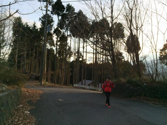 2014.12.27-29 富士山一周トレイル day2 河口湖・鳴沢-朝霧_b0219778_16255094.jpg