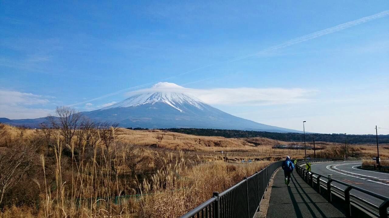 2014.12.27-29 富士山一周トレイル day2 河口湖・鳴沢-朝霧_b0219778_16310547.jpg