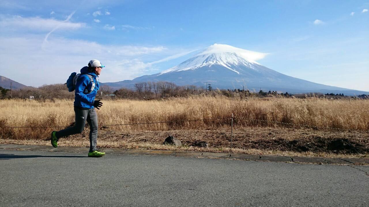 2014.12.27-29 富士山一周トレイル day2 河口湖・鳴沢-朝霧_b0219778_16320264.jpg