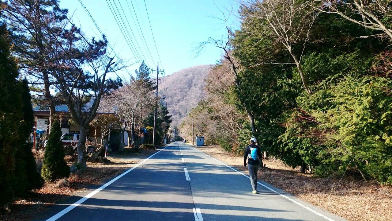2014.12.27-29 富士山一周トレイル day2 河口湖・鳴沢-朝霧_b0219778_16334539.jpg