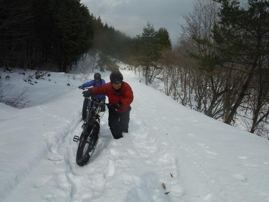 ファットバイクで雪遊び 2014年12月_c0132901_92134100.jpg