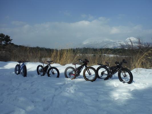 ファットバイクで雪遊び 2014年12月_c0132901_922868.jpg