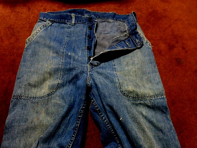 1月2日(初売り)入荷情報 #11 WWⅡ 40'S U.S NAVY DENIM PANTS_c0144020_1452565.jpg