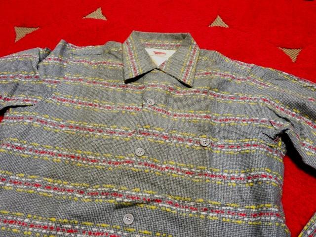 1月2日(初売り)入荷情報 #12 デッドストック 50'S プリントネルシャツ!_c0144020_15132842.jpg