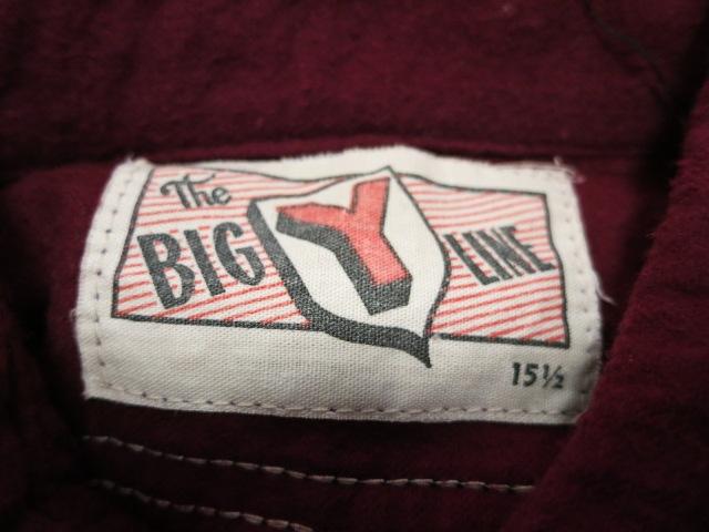 1月2日(初売り)入荷情報 #13 40'S BIG Y LINEネルシャツ!_c0144020_1585522.jpg