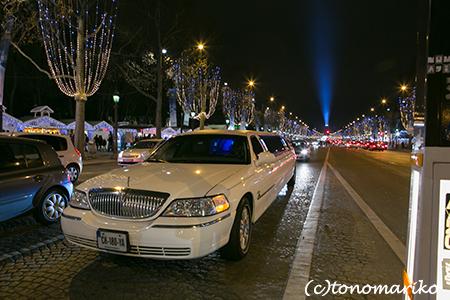 年越しはクリスマスのシャンゼリゼ大通り_c0024345_2001397.jpg