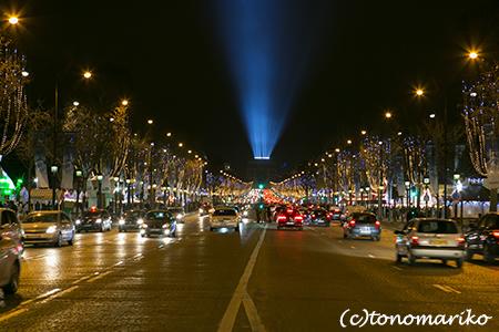 年越しはクリスマスのシャンゼリゼ大通り_c0024345_2003710.jpg