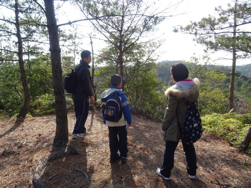孝子の森へ孫たちと行ってきました_c0108460_19511180.jpg