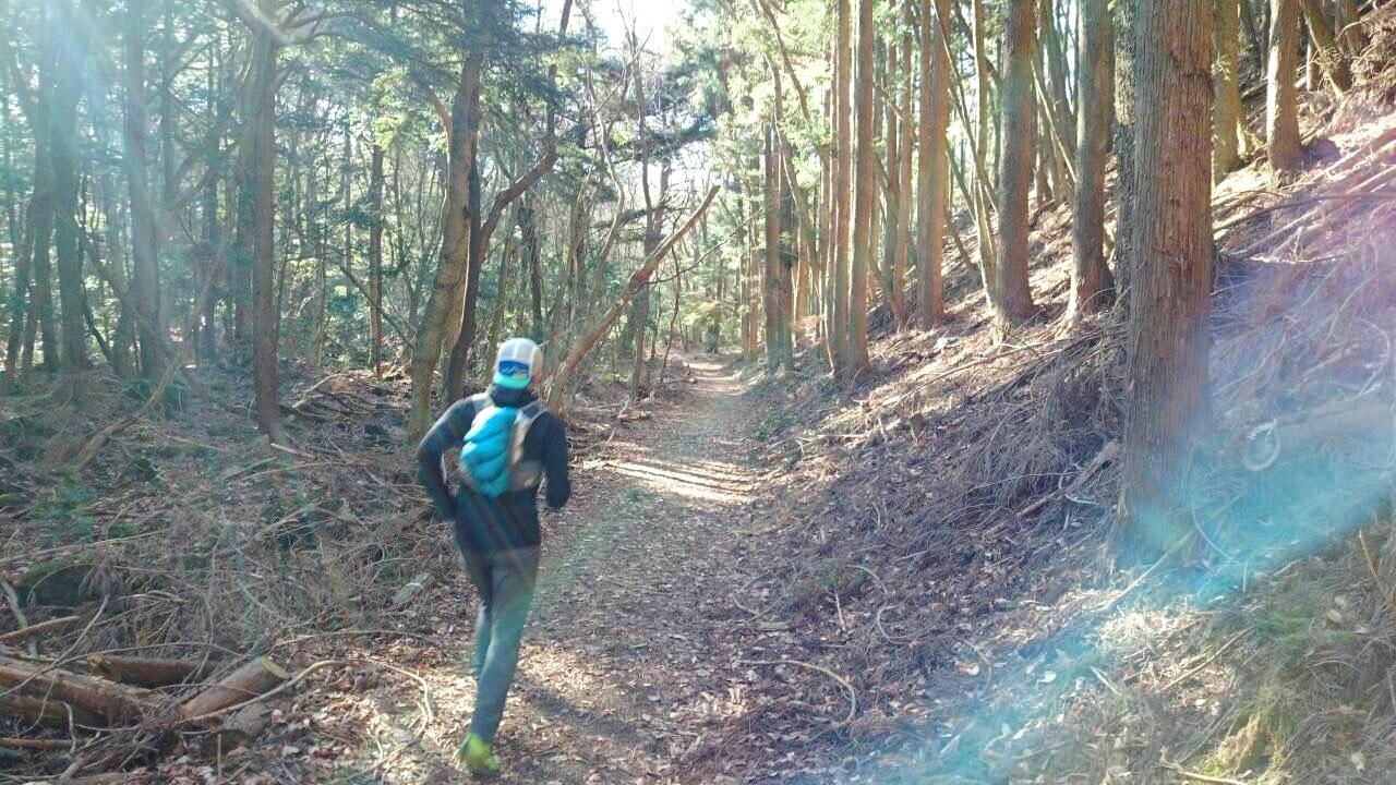 2014.12.27-29 富士山一周トレイル day2 河口湖・鳴沢-朝霧_b0219778_18514865.jpg