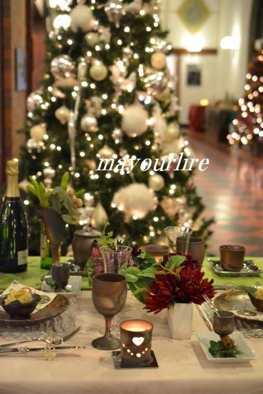 倉敷アイビースクエア クリスマステーブルコーディネート展_d0169179_192287.jpg