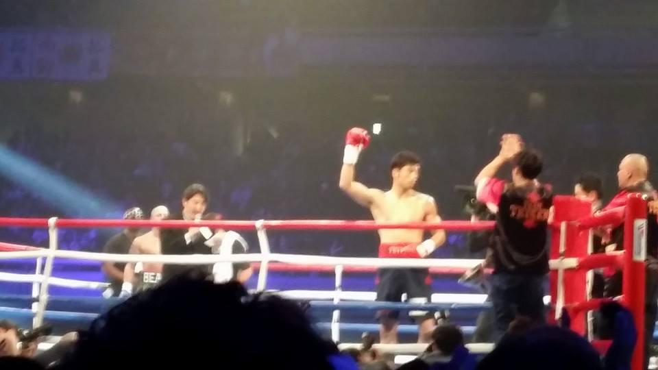 オリンピック金メダリスト村田選手の応援と、ボクシング世界タイトルマッチを観戦!_c0186691_0254282.jpg