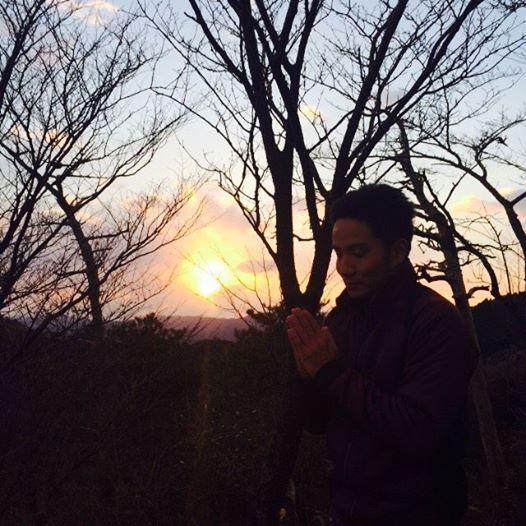 初日の出と青竹箸_d0230676_183222.jpg